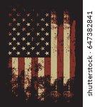 rough flag | Shutterstock .eps vector #647382841