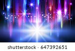 night city background  with... | Shutterstock . vector #647392651