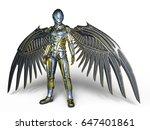 3d cg rendering of a robot | Shutterstock . vector #647401861
