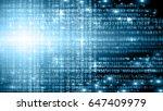 best internet concept of global ... | Shutterstock . vector #647409979