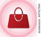 women bag vector illustration.... | Shutterstock .eps vector #647417944