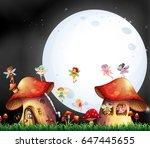 Cute Fairies Flying Over...