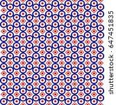 seamless geometric arabesque... | Shutterstock .eps vector #647451835