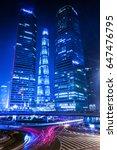 shanghai lujiazui finance and...   Shutterstock . vector #647476795