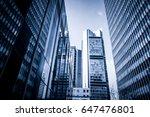 modern business center | Shutterstock . vector #647476801