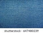 jeans texture | Shutterstock . vector #647480239