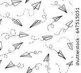 seamless pattern with vector...   Shutterstock .eps vector #647515051