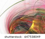 abstract fractal background.... | Shutterstock . vector #647538049