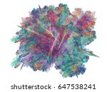 abstract fractal background.... | Shutterstock . vector #647538241