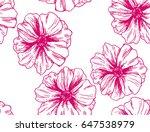 illustration made by ink on... | Shutterstock . vector #647538979