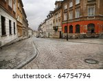 Street In The Old Town Of...