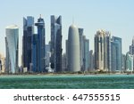 city towers | Shutterstock . vector #647555515
