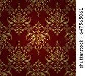 vector illustration. golden... | Shutterstock .eps vector #647565061