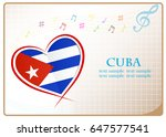heart logo made from the flag...   Shutterstock .eps vector #647577541
