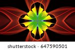 neon colors abstract background | Shutterstock . vector #647590501