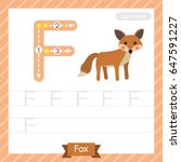 Letter F Uppercase Tracing...