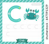 letter c uppercase tracing...