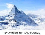 View Of The Matterhorn From Th...