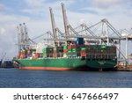 rotterdam  netherlands   mar 16 ... | Shutterstock . vector #647666497