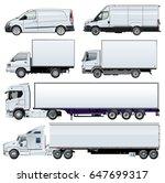 Vector Trucks Template For...