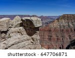 the beautiful north rim of... | Shutterstock . vector #647706871