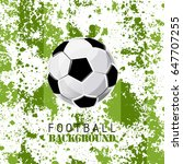 football tournament poster... | Shutterstock .eps vector #647707255