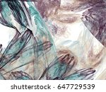 abstract fractal background.... | Shutterstock . vector #647729539