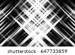abstract grey background with... | Shutterstock . vector #647733859