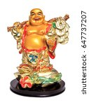 Statuette Of Buddha  Isolated