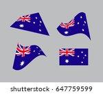 flag of australia  national...   Shutterstock .eps vector #647759599