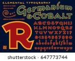 germanium   cobalt is an a...   Shutterstock .eps vector #647773744