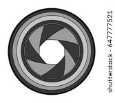 lens photographic isolated icon   Shutterstock .eps vector #647777521