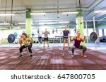 fitness  sport  training ... | Shutterstock . vector #647800705