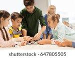 education  children  technology ... | Shutterstock . vector #647805505