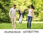 family  parenthood  adoption... | Shutterstock . vector #647807794