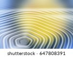 colorful ripple background | Shutterstock . vector #647808391