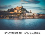 Old Fortress Of Corfu Island ...