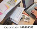 business loans repayment... | Shutterstock . vector #647828389