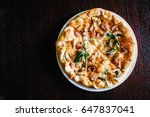 italian pizza four cheese with...   Shutterstock . vector #647837041