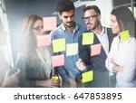 creative business people... | Shutterstock . vector #647853895