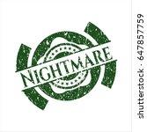 green nightmare grunge style...   Shutterstock .eps vector #647857759