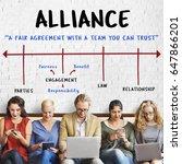 Small photo of Partnership Alliance Collaboration Business Arrow