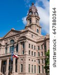 Small photo of Historic Tarrant County Courthouse in Fort Worth, Texas