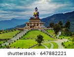 beautiful huge statue of lord... | Shutterstock . vector #647882221