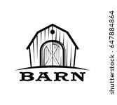 barn logo vector | Shutterstock .eps vector #647884864