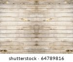 close up of gray wooden fence... | Shutterstock . vector #64789816