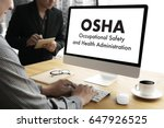 Small photo of Occupational Safety and Health Administration OSHA Business team work