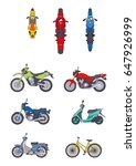 illustration of a motorcycle ... | Shutterstock . vector #647926999