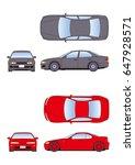 car illustration | Shutterstock . vector #647928571