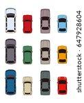 car illustration | Shutterstock . vector #647928604